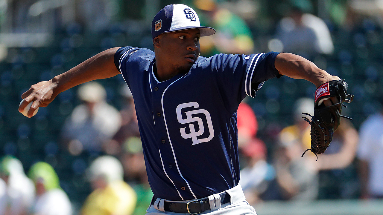 Perdomo shows resolve in five-inning outing