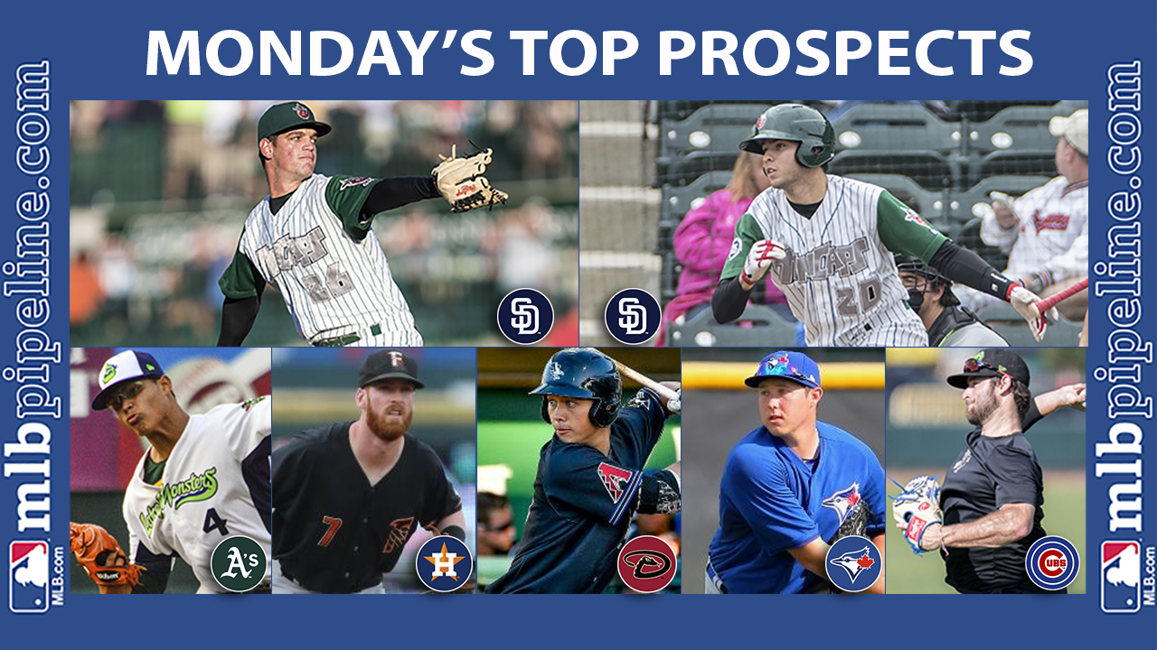 Monday's best: Baez, Potts lift TinCaps to win